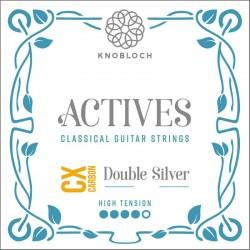 Knobloch Act. Double Silver Carbon C.X. 600ACX E6 Super High juego de primas