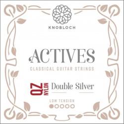 Knobloch Act. Double Silver Carbon Q.Z. 200AQZ Low juego de primas