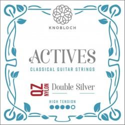 Knobloch Act. Double Silver Carbon Q.Z. 500AQZ High juego de primas