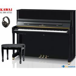 Kawai K-300 ATX3 Negro pulido Silent