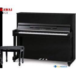 Kawai ND-21 Negro pulido 121CM