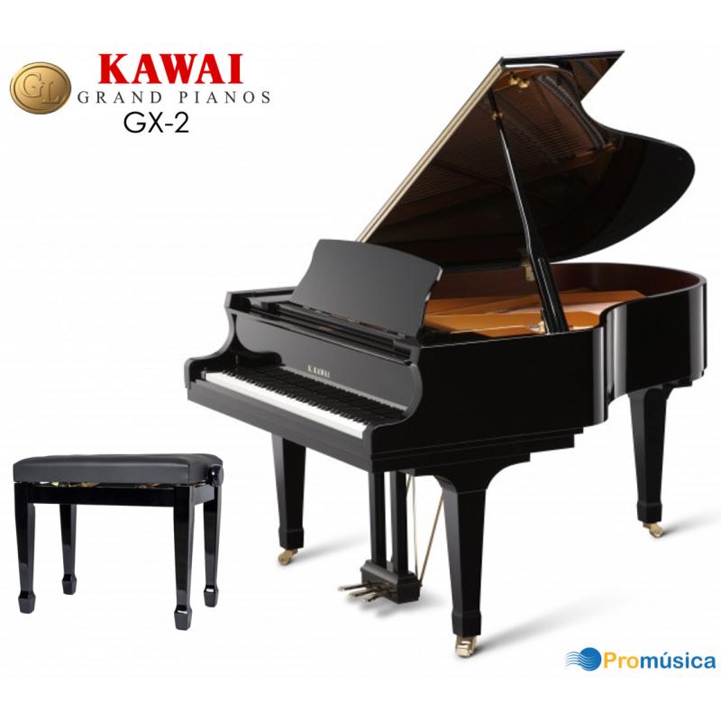 KAWAI GX-2 Negro Pulido 180cm