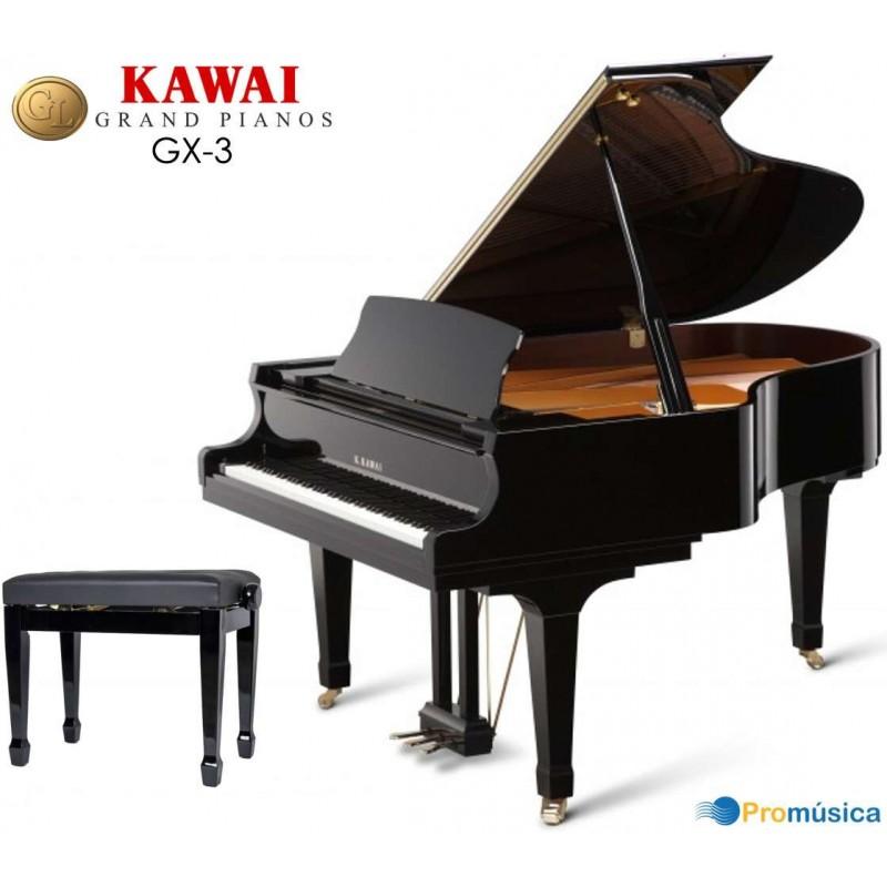 KAWAI GX-3 Negro Pulido 188cm