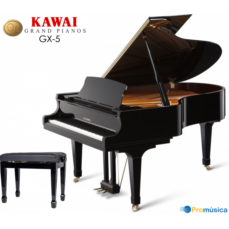KAWAI GX-5 Negro Pulido 200cm