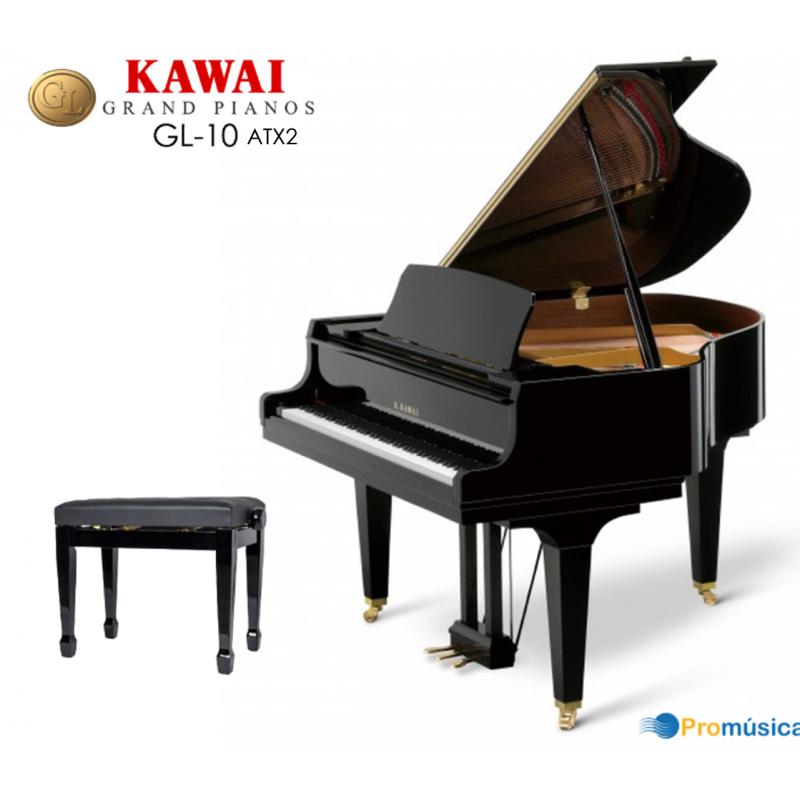 KAWAI GL-10 Negro Pulido 153cm