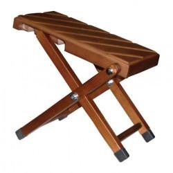 SAMBA 9181SM Banquito apoyapiés de madera, plegable