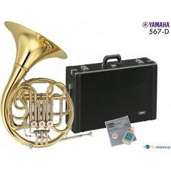 Trompa Yamaha YHR567 desmontable con estuche y accesorios