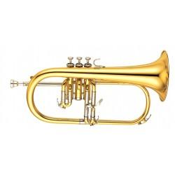Yamaha YFH 631G + Silent Brass Sb6x