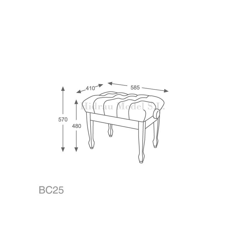 Hidrau Model BC25 Polipiel
