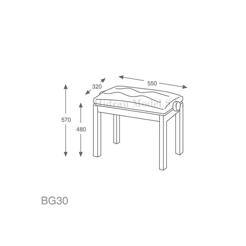 Hidrau Model BG30 Polipiel