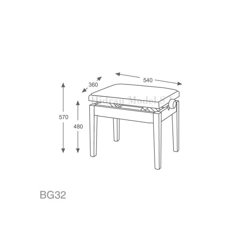 Hidrau Model BG32 Polipiel