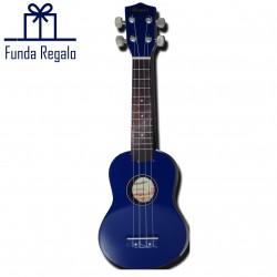 Memphis Ukelele Soprano azul