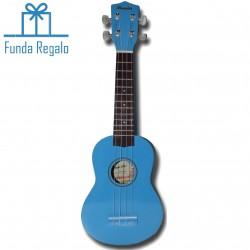 Memphis Ukelele Soprano azul b