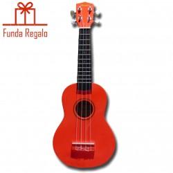 Memphis Ukelele Soprano Rojo