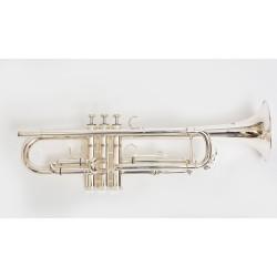 Trompeta Bressant Plateada TR-210S