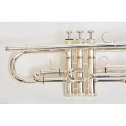 Trompeta Bressant Plateada LKTR-106