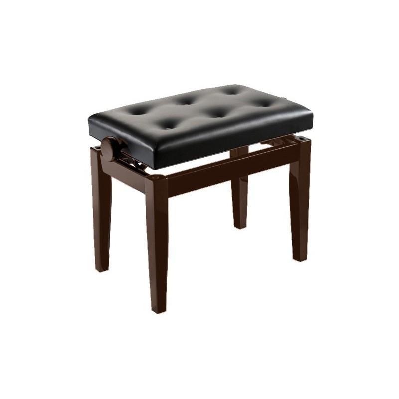 OQAN Banqueta Piano Regulable palisandro/negro