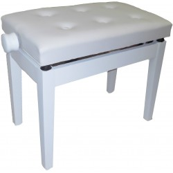 OQAN Banqueta Piano Regulable BGM blanco/blanco