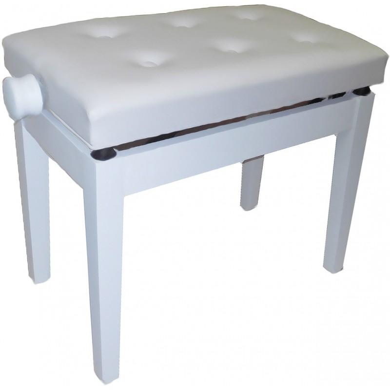 OQAN Banqueta Piano Regulable BGM blanco/blanco