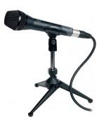 Soportes de microfonos